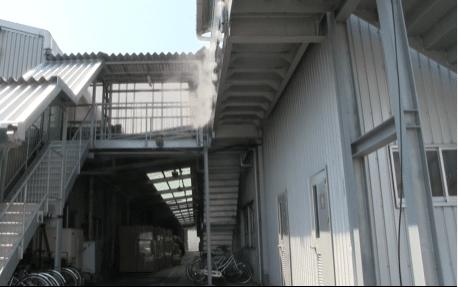ミストファン_工場
