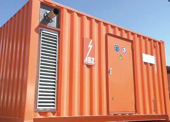 工場のBCP対策、防災対策、災害対策用「非常用大型発電機」