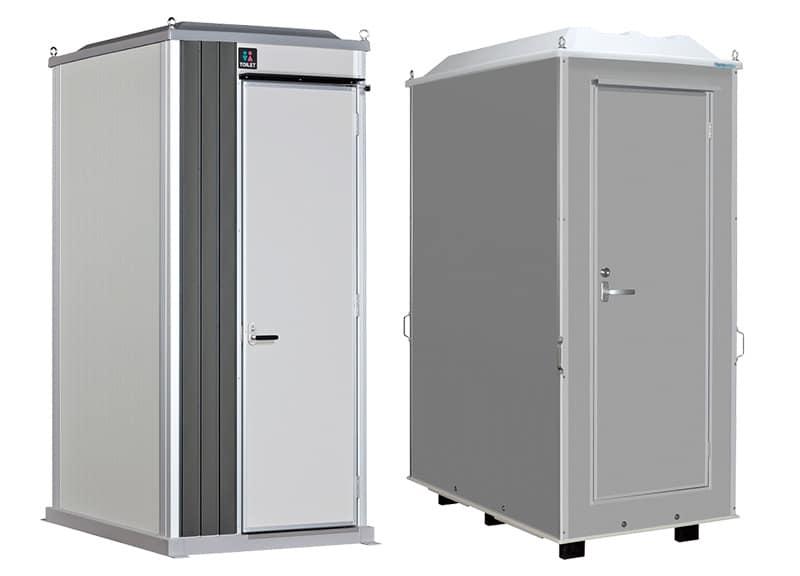 個室トイレ_屋外シャワー