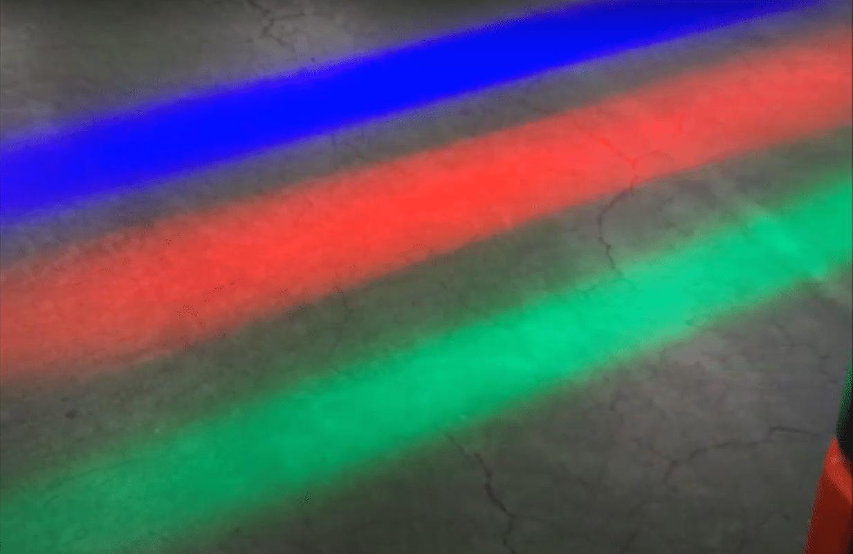 ライト3色
