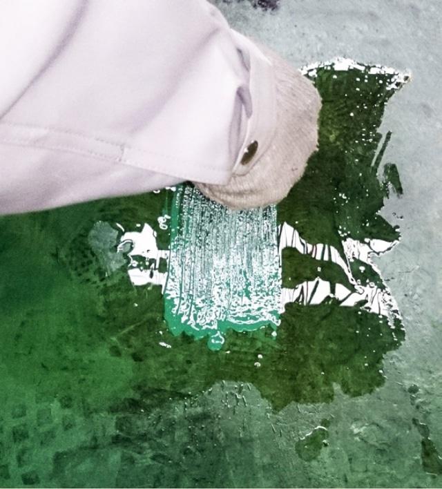 油床塗装試験