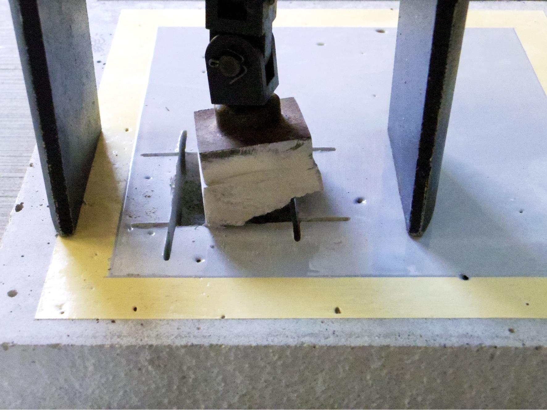 コンクリ引っ張り実験