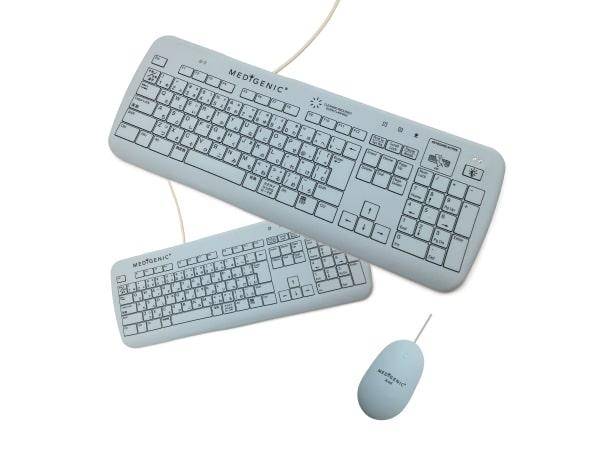 感染症対策用防水型キーボード・マウス 「MEDIGENIC(メディジェニック)」