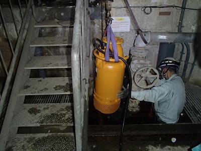 排水ポンプ取替工