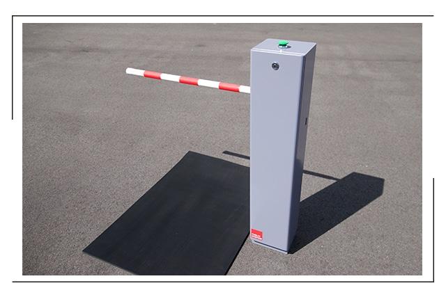 「検温安全ゲート」人用ゲート画像