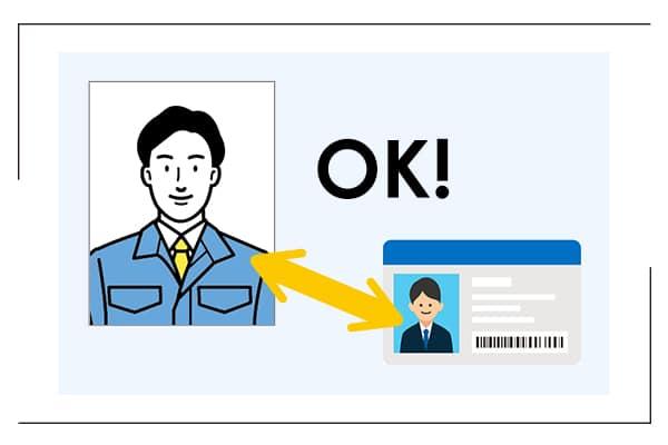 「検温安全ゲート」複数の認証モードイメージ画像